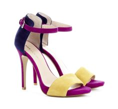 "I can see it now--Multi-colored shoes worn with neutral solids--and ""pop of color"" accessories >>Sole Society"