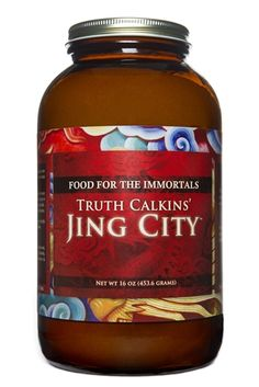 Truth Calkins' Jing City VEGAN With Lucuma,16 oz (in glass) | Longevity Warehouse