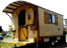 The timeless beckoning call of the Gypsy wagon and imagined Bohemian lifestyle.  Beautiful and colourful, tiny homes on wheels.  For living,...