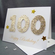 13 Best 100th Birthday Card Images