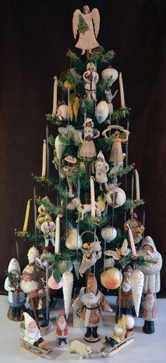 рождественская елкаAntique spun cotton