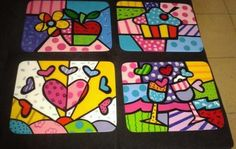 Country painting britto