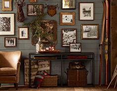 Love This Look For Cabin Bedrooms Horizontal Boards In Weathered Gray Green Good