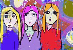 three tall women #3