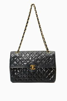 Vintage Chanel Quilted Leather Chain Purse - SOLD OUT $3800.00