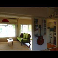 Makeesさんの、部屋全体,掃除しました!,団地部,団地,セルフリノベ,CD DVD 収納,のお部屋写真