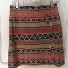 Plaid wrap skirt Good condition Paul Harris Skirts