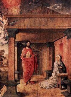 ХУАН ФЛАНДРСКИЙ Juan de Flandes (ок. 1465, ? - ок. 1519) - Явление Христа…