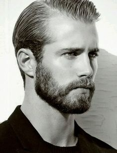Beard this fellow is incredibly groomed. great hair, great beard.