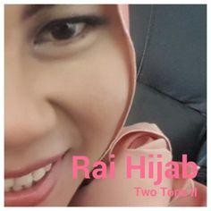 Tutorial Hijab Two Tone II Rai