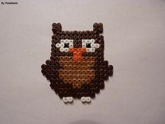 melty bead owl