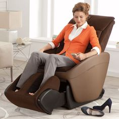 A massage chair designed to fit in with your everyday furniture.