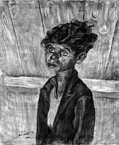 Papelon by Otto Pankok - 1932 Great Paintings, Sketch Book, Drawings, Linocut, Degenerate Art, Painting, Art, Buddha Statue, Woodcut
