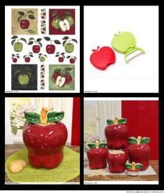Using Apple As A Motif In Your Kitchen Decor Is A Great Idea. There Are