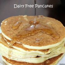Dairy free Pancakes (with coconut milk)
