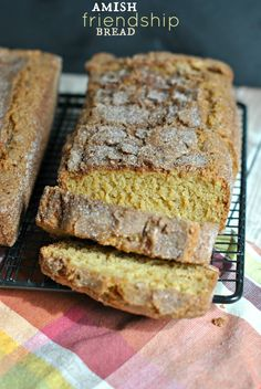 Amish Cinnamon Bread (with starter!!) - Shugary Sweets