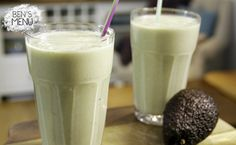 Andy Allen- Avocado, banana almond, walnut and coconut breakfast smoothie.