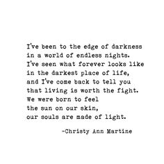 """""""She is a wild storm. If you don't want to dance in her ..."""