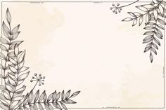Download Floral Background Hand Drawn Style for free