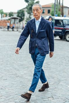 The MasterSource: style.com - Pitti Uomo 88Photography: Tommy Ton