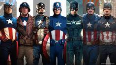 The Evolution of Captain America's Uniform