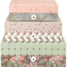 3-Piece Ronda Storage Box Set
