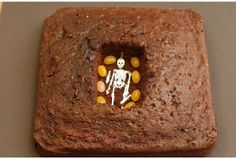 """Cake """"Archaeological Dig"""" with lesson plan"""