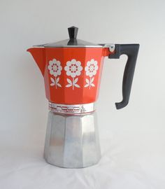 Vintage Gemelli Stovetop Espresso Maker Made in Italy.