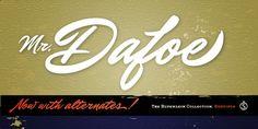 Mr Dafoe Pro - Webfont & Desktop font « MyFonts