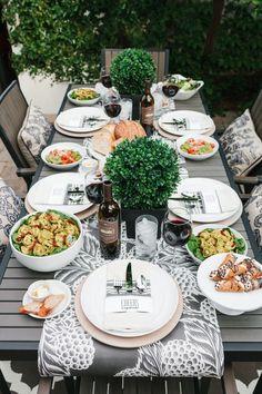 Italienische Dinner-Party   repinned by @hosenschnecke♡