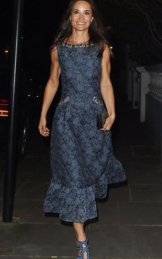 Pippa Middleton, The Duchess of Cambridge's younger sister, took an evening off from wedding planning last night to attend the ParaSnow Ball on the arm of her fiancé James Matthews.