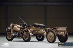 BMW R75 - War competitor for M72 (both designed in Germany)