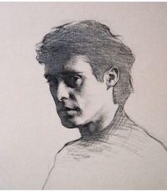 графика. портрет. карандаш