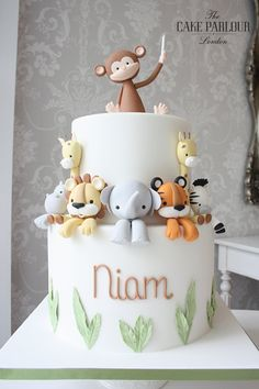 Animals birthday cake – # baby cakes – baby cake – cake Informations About Tiere Geburtstagstorte – # Baby Cakes – baby kuchen – … Baby Boy Birthday Cake, Animal Birthday Cakes, Birthday Animals, 1st Birthday Ideas For Boys, Jungle Birthday Cakes, Birthday Cake Kids Boys, 1 Year Old Birthday Cake, Baby Boy Christening Cake, Mother Birthday Cake