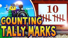 Learn your numbers by counting tally marks on the PicTrain™! Counting tally marks is tons of fun and is done in kindergarten classrooms the world over. Math Classroom, Kindergarten Math, Teaching Math, Teaching Ideas, Classroom Ideas, School Songs, School Videos, Subitizing Activities, Math Songs