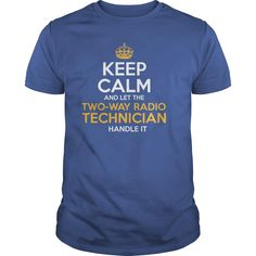 Awesome Tee For Two-Way Radio Technician