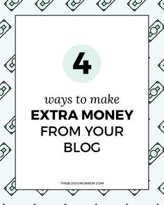 You can start making money today with these easy methods for earning on your blog!