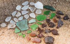 Beach Glass: Bradstreet's Landing | The Dainty Squid