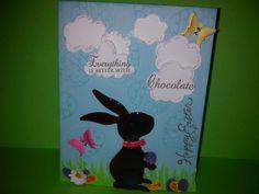 Cricut Easter card