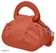 Checkout this latest Slingbags Product Name: *Trendy Women's Handbag* Sizes:Free Size Country of Origin: India Easy Returns Available In Case Of Any Issue   Catalog Rating: ★4.1 (6750)  Catalog Name: Comfy Trendy PU Leather Women's Handbags Vol 6 CatalogID_515653 C73-SC1075 Code: 932-3694177-564