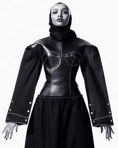 A preview of the upcoming CR Issue 10 featuring Somali-American @kinglimaa the first-ever beauty pageant contestant to compete while wearing a hijab. By @mario_sorrenti and @carineroitfeld  via CR FASHION BOOK MAGAZINE OFFICIAL INSTAGRAM - Celebrity  Fashion  Haute Couture  Advertising  Culture  Beauty  Editorial Photography  Magazine Covers  Supermodels  Runway Models