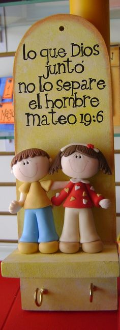 Bible Crafts For Kids, Vbs Crafts, Diy And Crafts, Cute Polymer Clay, Polymer Clay Dolls, Biscuit, Marriage Prayer, Church Nursery, Pasta Flexible