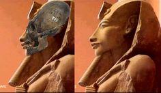 + - Textos antigos descrevem uma época na história do antigo Egito, conhecida como era pré-dinástica, onde 'deuses' reinaram no Egito por centenas de anos. Aquenáton poderia facilmente ter sido um faraó egípcio que pertenceu a esse período. Alguns teóricos do Alienígena da Antiguidade interpretam seu crânio alongado como sendo um sinal de herança extraterrestre. …