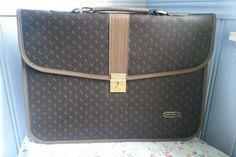1980s Bon Voyage Women's Travel Case/Briefcase