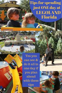 Tips for one day at Legoland Florida | Florida Family Vacation