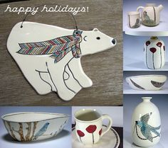 Little Flower Designs, table ware and ornaments!