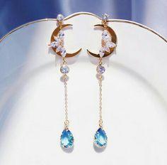 Ear Jewelry, Cute Jewelry, Jewelery, Jewelry Accessories, Jewelry Design, Fancy Jewellery, Stylish Jewelry, Fashion Jewelry, Magical Jewelry
