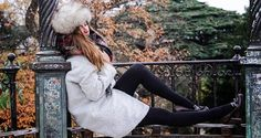 Les feuilles mortes.  Cinnamon Bazaar, a fine French blog posted this outfit a while ago, showing a kind of...http://tights.fun/les-feuilles-mortes/