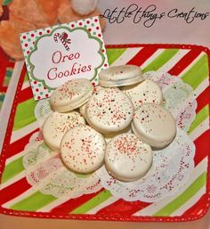 Christmas Candyland Party - Oreo Cookies