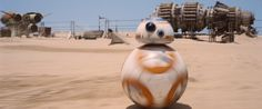 """3. Podracers can also be seen in the background of several of the scenes that take place on Jakku. 